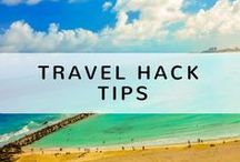 Travel Hack Tips / Want all the best ways to save money whilst travelling? Want to discover interesting tips on how to pack or save space? This board is a collection of different travel hack tips from throughout Pinterest. For more travel tips check out www.letsgetjobless.com/category/travel/