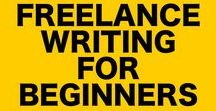 Freelance Writing For Beginners / Want to learn freelance writing for beginners tips and tricks on how to be a better freelance writer? Check out this board.