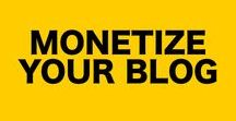 Monetize Your Blog / To monetize your blog you need blog traffic, and a way to make blog revenue. Find out how to make money blogging in this board.