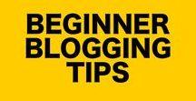 Beginner Blogging Tips / Beginner blogging get started guides can be hard, so we've compiled the best beginner blogging money tips from around Pinterest. Get all the blog beginner tips inside.