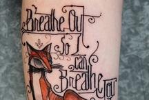 tattoo ideas & styles / by Kat Sampson Sutton