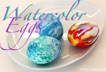 Easter Crafts and Easter Recipes / Pretty DIY Easter Projects, crafts and recipes!