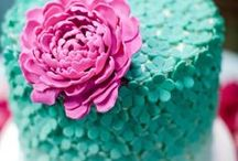 Food: Cakes / Pretty Cakes To Make - Cake Recipes - Do It Yourself Cakes / by Oh My! Creative