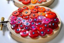 Crafts: Buttons / Beautiful Button Crafts! / by Oh My! Creative