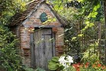 Potting Sheds & Garden Follies / Potting sheds and decorating inspirations for outdoor living.