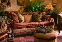 Bohemian Whimsies  / Carefree, unconventional, artistic design with a touch of romance..
