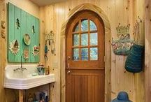 Laundry & Mud Rooms / Creating a lovely space to tackle nasty chores...