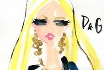 ART - Illustration (Fashion) / by Jennifer Chapa