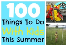 fun activities with kids / by Michelle Sutton