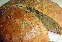 Delicious Breads / by Heather Brinkerhoff Burdsal