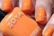 My nails in Zoya