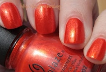 My nails in China Glaze