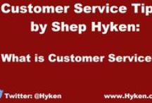 Customer Service Video Tips / Professional speaker and New York Times bestselling author, Shep Hyken shares a tool from his latest book, Amaze Every Customer Every Time.  http://www.amazeeverycustomer.com/  / by Shep Hyken