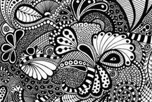 ART - Zentangles and Mandalas / by Jennifer Chapa