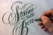Lettering & Fonts / by Gae Watson