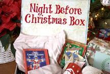 Christmas Eve Box Traditions / Start a new family tradition on Christmas Eve with the Night Before Christmas Box! Fun for the whole family!  / by Oh My! Creative