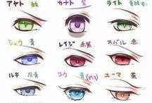 Ojos Anime / Ojos de anime, see, soy muy interesante.