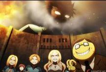 Anime Crossover / Crossovers de los personajes de animes que conozco.
