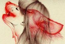 Lobos / Amo a los lobos, cada uno tenemos un lobo en nuestro interior, las historias salvajes me atrapan como a un lobo con un pedazo de carne.
