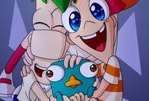 Phineas y Ferb / Esta serie, infanca de muchos de nosotros.
