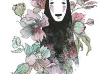 顔なし~ Kaonashi(No Face)// 千と千尋の神隠し(Spirited Away)