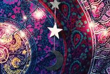GYPSY BEAUTY / Beautiful textiles, pattern & style - a Gypsy Bohemian Folk Vibe!