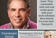 Forestream Dental: About Us / Buffalo area dentist Larry Evola and his staff are committed to creating and maintaining great oral health and sustaining beautiful smiles. We keep up on the latest technology for general dentistry, cosmetic dentistry, and sleep apnea – not just so we can say that we have the best technology, but so that we can give you the benefits of better, faster treatments.