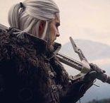 இes - Geralt z Rivii - Biały Wilk