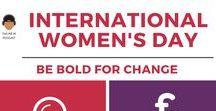 International Women's Day / Celebration International Women's Day with us