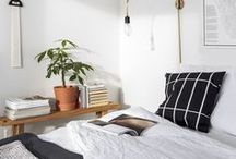 Bedroom / Bedroom Inspiration and Ideas to a dreamy place + Beautiful, Minimalist and Cosy | Bedroom Decor | Bedroom Ideas for Couples | Bedroom Decor for Couples | Bedroom for Small Rooms | Bedroom Aesthetic | Bedroom Color Schemes | Bedroom Design | Bedroom Minimalist Design.
