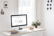 Workspace / Home Office Design Inspiration to a Creative Workspace + Minimalist | Studio | Work Station | Bright & White | Botanical Touch | Workspace Design | Workspace Wellbeing | Workspace Tips | Workspace Ideas | Workspace Interior Design | Workspace Decoration | Workspace Organisation | Workspace Nordic | Office Decor.