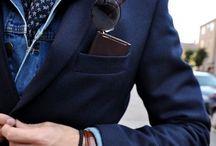 Fashion - inspiration / Menfashion, menstyle, style, Fashion, inspiration, sartorial, minimalism, casual, grey, navy, jacket, shirt