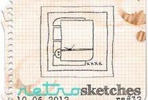 Sketch It / Sketches for cards and scrapbook pages.