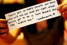 Quotes <3 / by Maegge Moravec