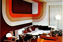 1970's Interiors / We are forever children of the 70's and these are a few of our favorite things.