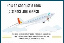 Job Search Relocation Tips / Job searching long distance and attracting the attention of employers outside your home area can be a challenging task. Here are tips, advice, and suggestions for conducting a long distance job search. / by Alison Doyle