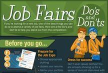 Career Fair Tips / Tips and advice for making the most out of a career fair.