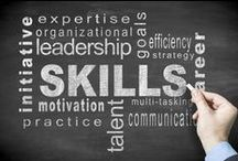 Employment Skills / Employers want to see that you have what it takes to succeed on the job. The skills you list on your resume, cover letter, and job application will be used to match your qualifications to the job for which you're applying.  / by Alison Doyle