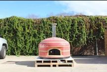 Custom Tiled Ovens / Forno Bravo Wood-fired Pizza Ovens with custom tiling:  Napoli, Napolino, Vesuvio  / by Forno Bravo