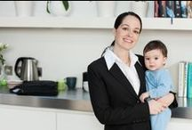 Tips for Stay-at-Home Moms / Tips for stay-at-home moms for working from home, earning extra money and returning to the workforce. / by Alison Doyle