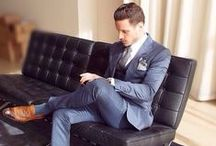 Interview Outfits for Men / What to wear for job interviews and at work. / by Alison Doyle