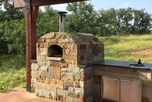 Oven Residential Installations / Installations of Forno Bravo wood fire ovens