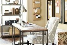 Home Office Inspiration / Need inspiration for your home office? Here are some of my favorite designs, suggestions, and quotes to help you create the ultimate home office.  / by Alison Doyle