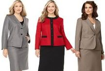 Plus Size Fashion for Interviews and Work / by Alison Doyle