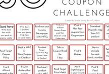 Coupon Challenge / learn ways to use coupons with these challenges