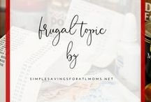 Frugal Topic Series / learn different topics related to being frugal