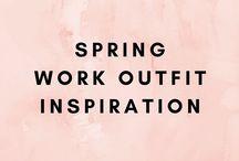 Spring Work Attire