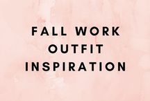Fall Work Outfit Inspiration / A board devoted to fall work outfits. Business casual and corporate outfit inspiration. Affordable fall fashion. Daily fall outfit inspiration.
