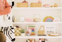Kids Room / Kids room and playroom design ideas. Toys, wallpaper, and kid-friendly furniture decorations.