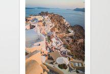 Art / Society6 art prints - whimsical, nature, animal, landscape inspired.